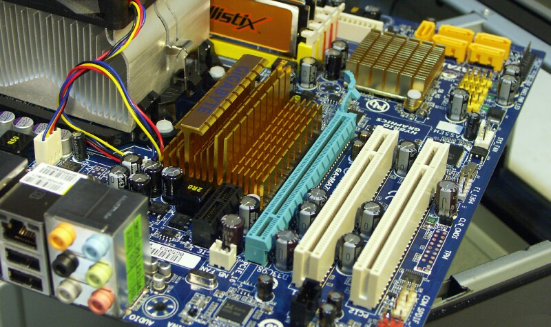 Northbridge heat sink